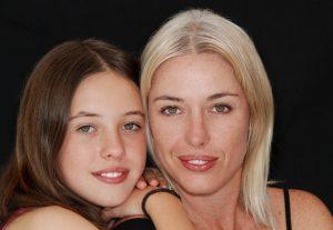 family-mom-daughter-smiling